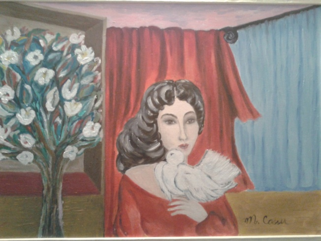 La donna della colomba