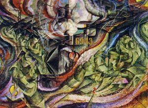 Umberto Boccioni, Stati d' animo : gli addii 1912