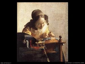 Ian Vermeer, La ricamatrce1669