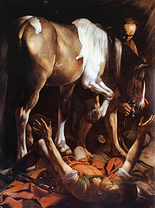 Caravaggio, La Conversione Di San Paolo 1601