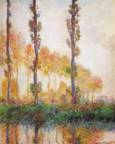 Claude Monet, Pioppi (Autunno) 1896
