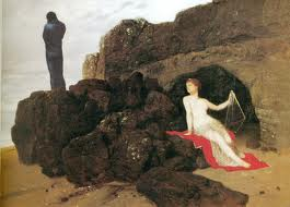 Arnold Bocklin, Ulisse e Calipso 1883
