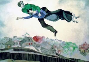 Chagall, Over the town