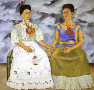 Frida Kahalo, Le due Frida   1936