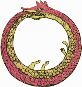 Ouroboros, il serpente che si morde la coda