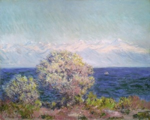 Monet, Studio di ulivi  1884