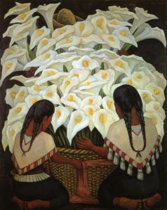 Diego Rivera, Venditrici di calle, 1943