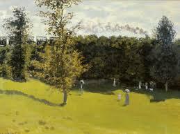 Claude Monet, Treno nella campagna 1870