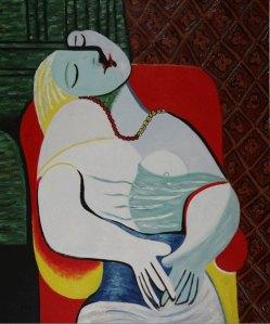 P. Picasso, Sogno, 1832