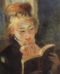 Auguste Renoir, Donna che legge, 1874-1876