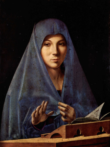 Antonello da Messina, L' Annunciata 1476