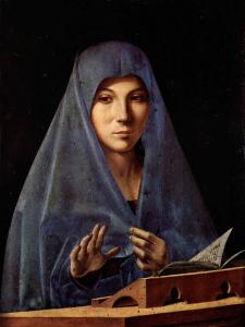 Antonello da Messina, L' Annunciata 1476