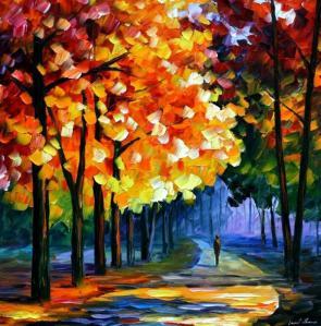 Leonid Afremov, il pittore della pioggia. Impressionista contemporaneo.