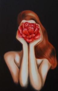 I lavori di pittura della giovane artista Rita Nocera